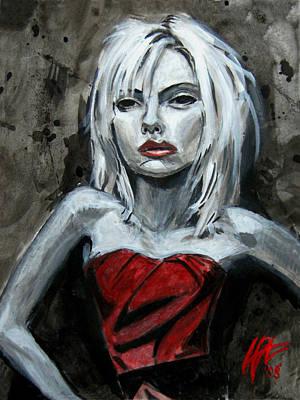 Scarlett Red Letter Poster by Lance Vaughn