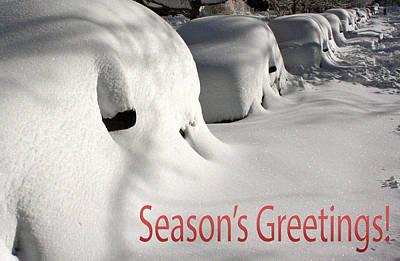 Season's Greetings Poster by Stuart Litoff