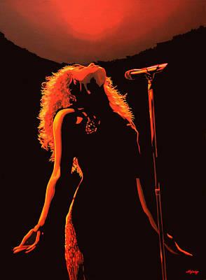 Shakira Poster by Paul Meijering