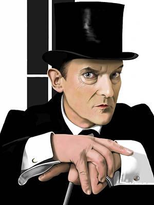 Sherlock Holmes Poster by Andrew Harrison