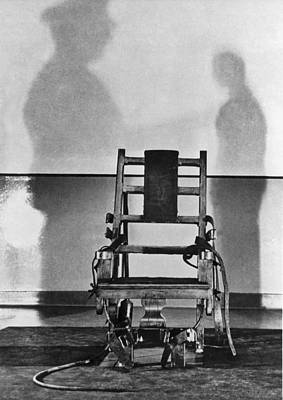 Sing Sing Electric Chair Poster by Underwood Archives