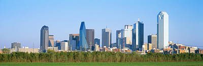 Skyline Dallas Tx Usa Poster by Panoramic Images