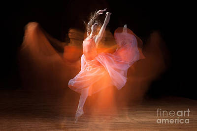 Spirit Dance Poster by Cindy Singleton