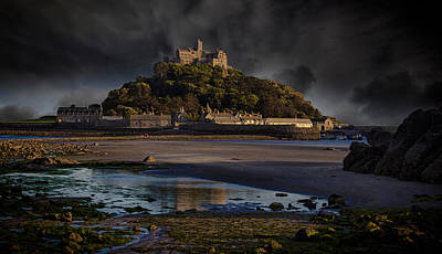St Michael's Mount Cornwall Poster by Martin Newman