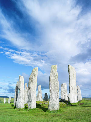 Standing Stones Of Callanish Poster by Martin Zwick