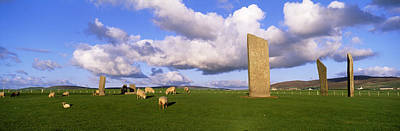 Stones Of Stenness, Orkney Islands Poster by Panoramic Images