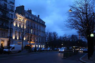 Street Scenes - Paris France - 011332 Poster by DC Photographer