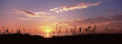 Sunset Over The Sea, Venice Beach Poster by Panoramic Images