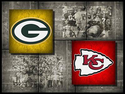 Super Bowl 1 Poster by Joe Hamilton