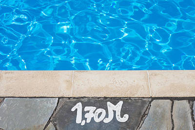 Swimming Pool Poster by Tom Gowanlock