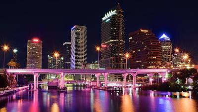 Tampa Colors Poster by Frozen in Time Fine Art Photography