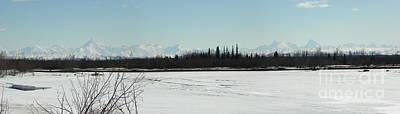 The Alaska Range Poster by Jennifer Kimberly