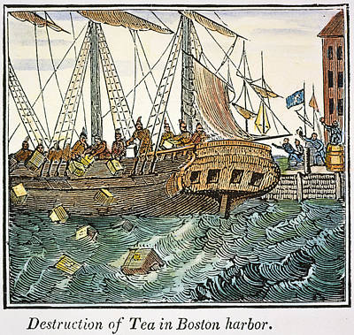 The Boston Tea Party, 1773 Poster by Granger