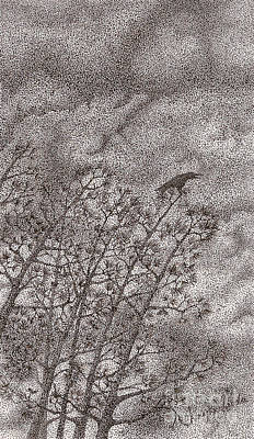 The Crow Poster by Wayne Hardee