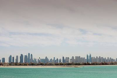 The Dubai Skyline Poster by Ashley Cooper