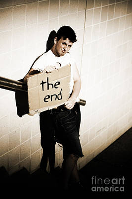 The End Poster by Jorgo Photography - Wall Art Gallery
