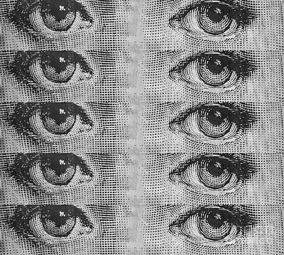 The Eyes Have It Poster by Edward Fielding