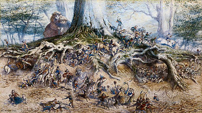 The Fairy Tree Poster by Richard Doyle