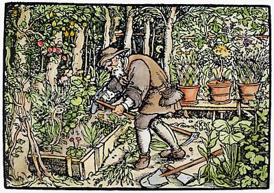 The Gardener, 1550 Poster by Granger