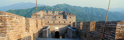 The Great Wall At Mutianyu In Beijing Poster by Panoramic Images