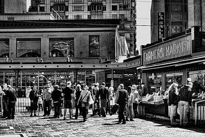 The Market At Pike Place Poster by David Patterson