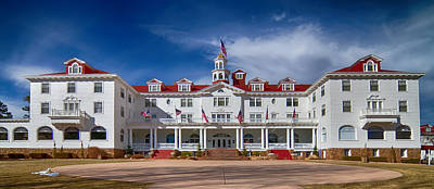 The Stanley Hotel Panorama Poster by James BO  Insogna