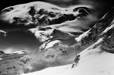 The Swiss Alps Poster by Mountain Dreams