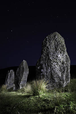 Three Standing Stones Poster by Dirk Ercken