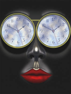 Time In Your Eyes Poster by Mike McGlothlen