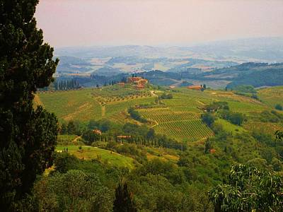 Tuscan Landscape Poster by Dany Lison