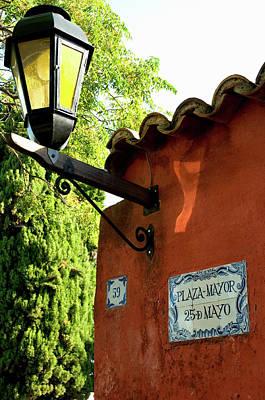 Uruguay Colonia Del Sacramento Barrio Poster by Inger Hogstrom