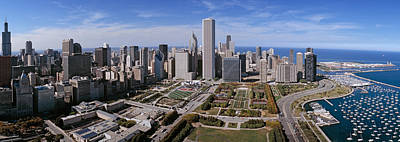 Usa, Illinois, Chicago, Millennium Poster by Panoramic Images