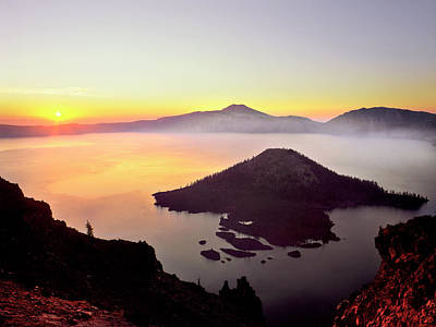 Usa, Oregon, Crater Lake National Park Poster by Jaynes Gallery