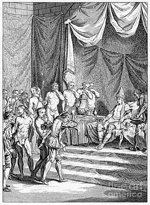 Vasco Da Gama In India Poster by CCI Archives
