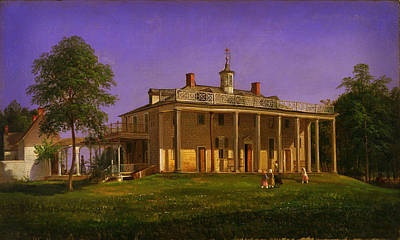 View Of Mount Vernon Poster by Celestial Images