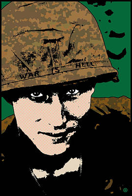 War Is Hell Poster by Gary Grayson