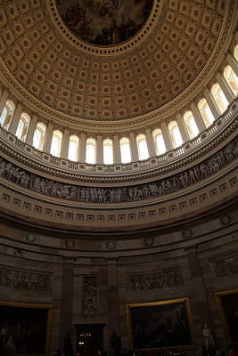 Washington Dc - Us Capitol - 011310 Poster by DC Photographer