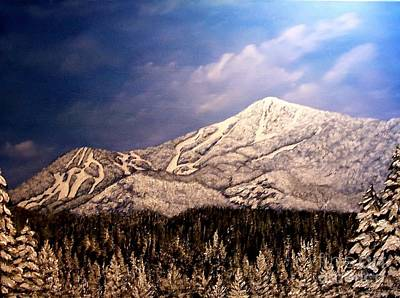 Whiteface Mt. Poster by Peggy Miller