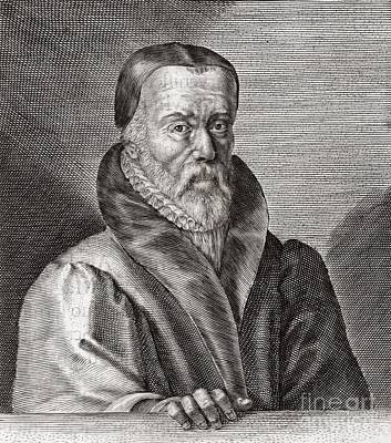 William Tyndale, English Scholar Poster by Middle Temple Library