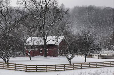 Winter Wonder Poster by Ann Bridges