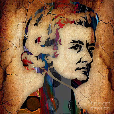 Wolfgang Amadeus Mozart Collection Poster by Marvin Blaine