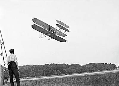 Wright Military Flyer Poster by Library Of Congress