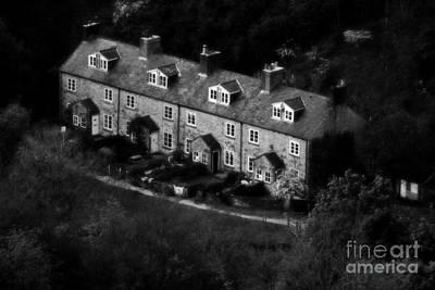 Ye Olde Terraced Houses Poster by Doc Braham