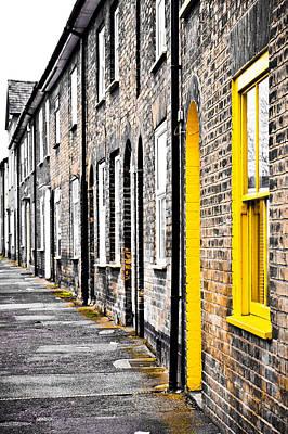 Yellow Door Poster by Tom Gowanlock