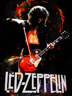 Zeppelin Poster by FHT Designs