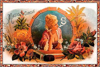 Cigar Label Poster by Baltzgar