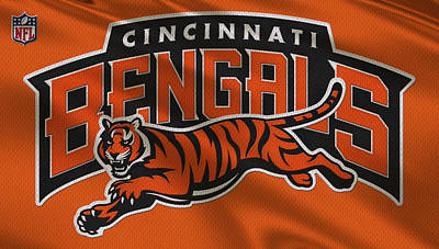 Cincinnati Bengals Uniform Poster by Joe Hamilton