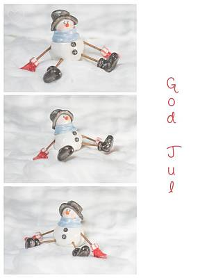 God Jul Poster by Mirra Photography