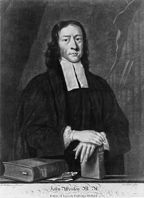 John Wesley (1703-1791) Poster by Granger