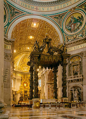 Saint Peter's Basilica  Poster by Mountain Dreams